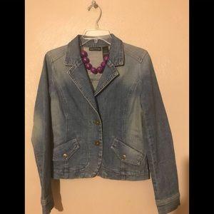 DKNY Jean jacket size Med